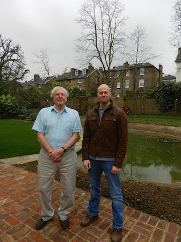 Robert Oates and Sir David Attenborough