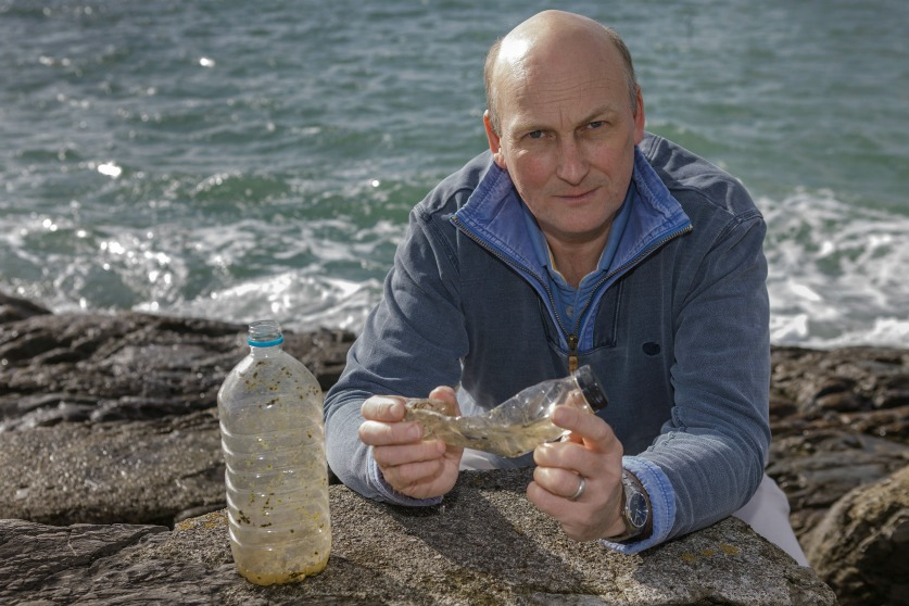 Richard Thompson has done much research into ocean plastics