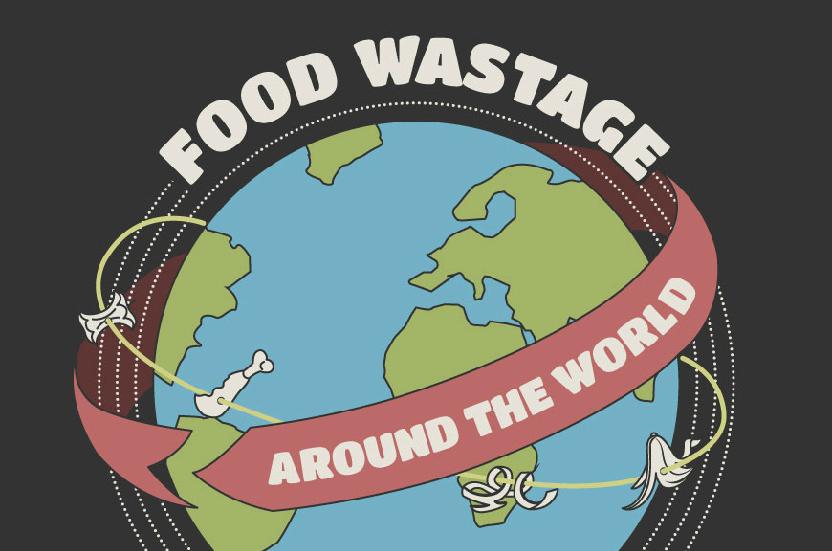 Food Wastage Around The World Infographic
