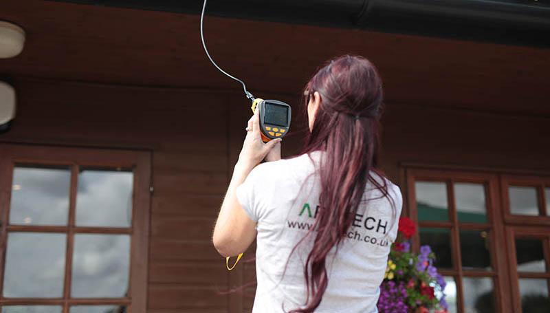A Bat survey using special equipment